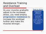 resistance training and overload1