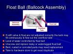 float ball ballcock assembly