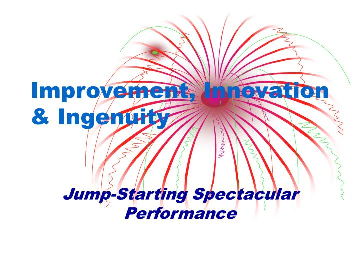 improvement innovation ingenuity n.