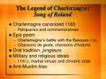 the legend of charlemagne song of roland