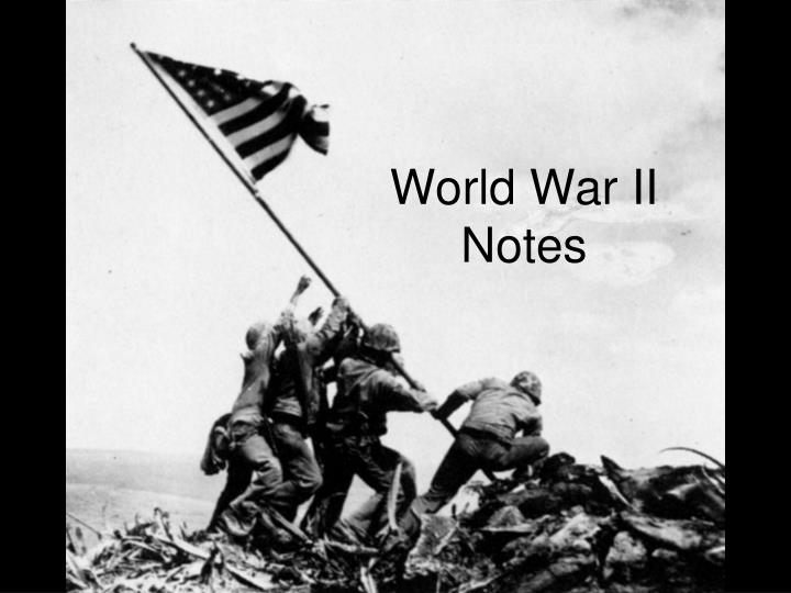 world war ii notes n.