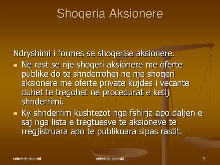 Shoqeria