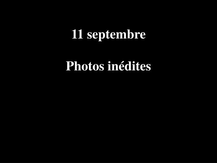 11 septembre photos in dites n.