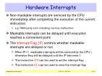 hardware interrupts1