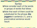 syntax4