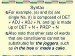 syntax7