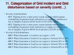 11 categorization of grid incident and grid disturbance based on severity contd