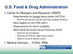 u s food drug administration