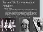 postwar disillusionment and rebellion2