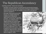 the republican ascendancy1