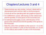 chapters lectures 3 and 4