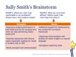 sally smith s brainstorm1