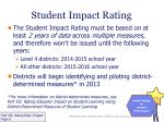 student impact rating2