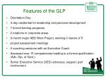 features of the glp
