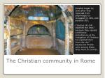 the christian community in rome