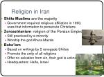 religion in iran