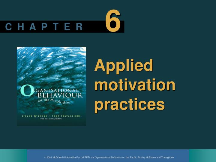 applied motivation practices n.