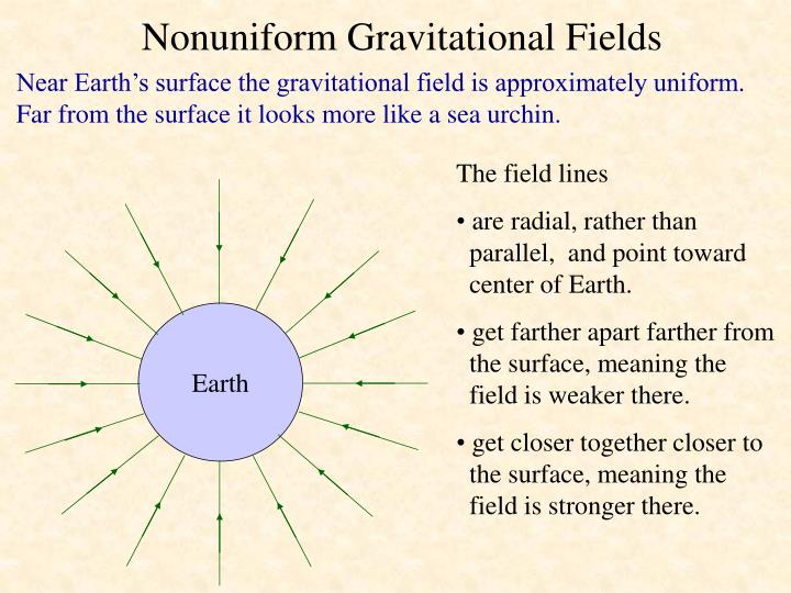Nonuniform Gravitational Fields