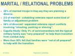 marital relational problems