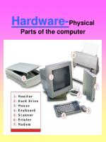 hardware physical parts of the computer