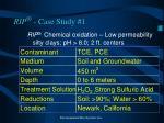 rip case study 1