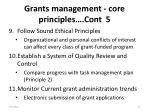 grants management core principles cont 5