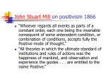 john stuart mill on positivism 1866