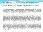 la difesa delle minoranze gli aborigeni australiani e il caso mabo vs queensland