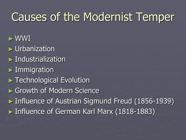 modernism literature essay Literature the literary movement that spanned from the late 19th century until roughly 1965 is referred to as modernism we will write a custom essay sample on modernism in literature.