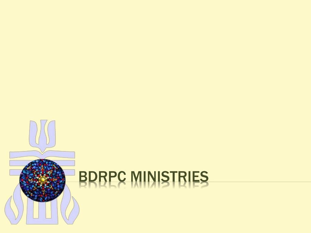 bdrpc ministries l.