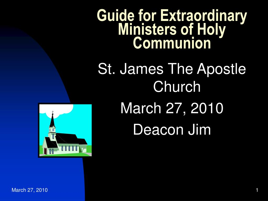 guide for extraordinary ministers of holy communion l.