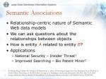 semantic associations