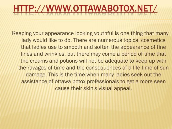 Http www ottawabotox net