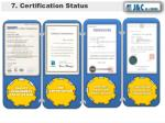 7 certification status