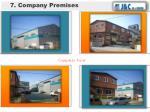 7 company premises