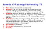 towards a 7 r strategy implementing its
