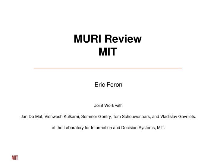 muri review mit n.