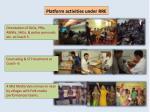 platform activities under rre1