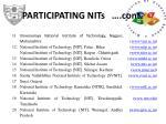 participating nits cont