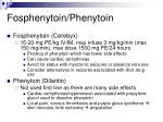 fosphenytoin phenytoin