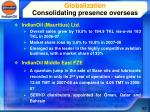 globalization consolidating presence overseas1