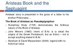 aristeas book and the septuagint