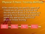 physical fitness training methods