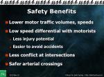 safety benefits