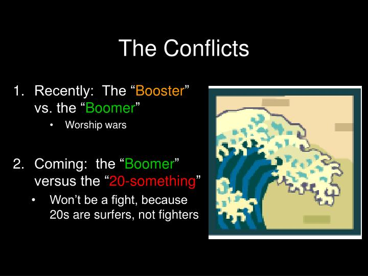 The Conflicts