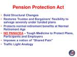 pension protection act