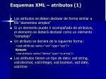 esquemas xml atributos 1