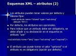 esquemas xml atributos 2