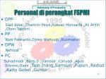 personal di perangkat fspmi