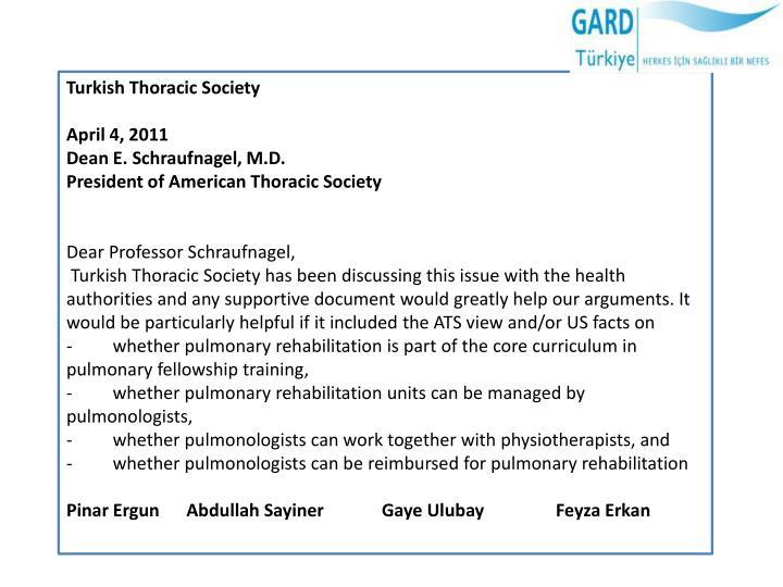 Turkish Thoracic Society
